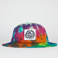Milkcrate Athletics Tie Dye Mens Bucket Hat White One Size For Men 22744415001
