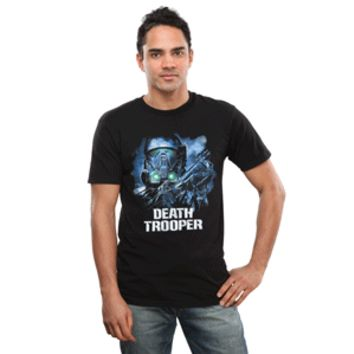 Death Trooper Close Up Glow-In-The-Dark Tee