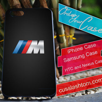 Exclusive BMW Logo iPhone for 4 5 5c 6 Plus Case, Samsung Galaxy for S3 S4 S5 Note 3 4 Case, iPod for 4 5 Case, HtC One M7 M8