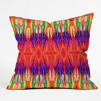 Holly Sharpe Carnival 01 Throw Pillow
