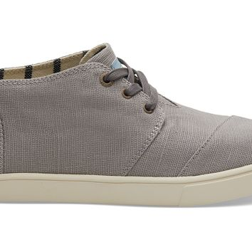 TOMS - Women's Cupsole Venice Collection Morning Dove Heritage Canvas Boots