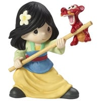 "Precious Moments ""Together We Can Do Anything"", Disney Mulan Figurine"