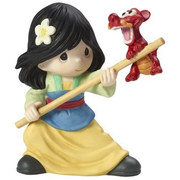 """Precious Moments """"Together We Can Do Anything"""", Disney Mulan Figurine"""