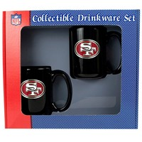 San Francisco 49ers 2-pc. Mug Set (Red)