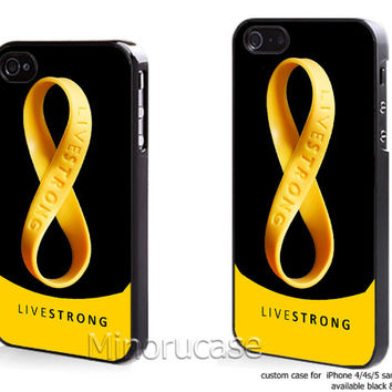 nike livestrong rubber bracelets Custom case For iphone 4/4s,iphone 5,Samsung Galaxy S3,Samsung Galaxy S4 by minorucase on etsy