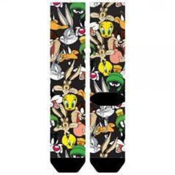 Looney tunes sublimated  crew socks