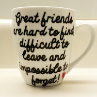 Long Distance Relationship/Friendship Pick Your City State/Country Mug