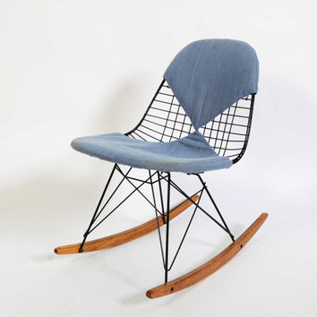 Eames RKR Child Size Rocking Chair Herman Miller 1950s