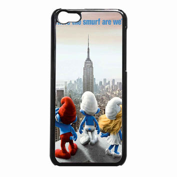 the smurfs 7bd1b077-7320-4ac4-a4e3-d54e4b7bcc03 FOR iPhone 5C CASE *NP*