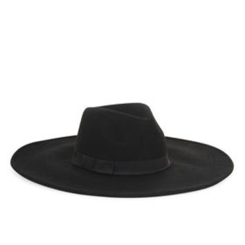 Wool Wide-Brim Hat