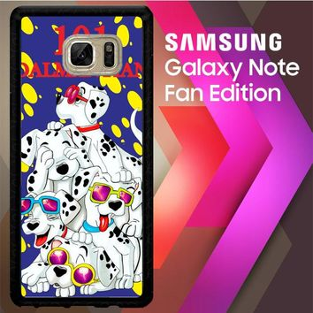 101 Dalmantian D0103 Samsung Galaxy Note FE Fan Edition Case