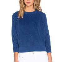 DemyLee Chelsea Sweater in Blue