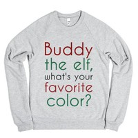 Buddy the elf-Unisex Heather Grey Sweatshirt