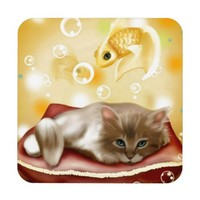 Cute Dream Kitten