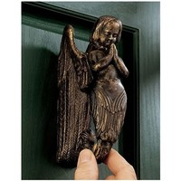 SheilaShrubs.com: Balinese Winged Mermaid Door Knocker SP15853 by Design Toscano: Door Knockers