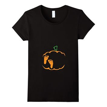 Little Pumpkin Shirt- Cute Halloween Pregnancy Announcement