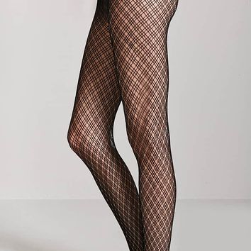Netted Lattice Tights