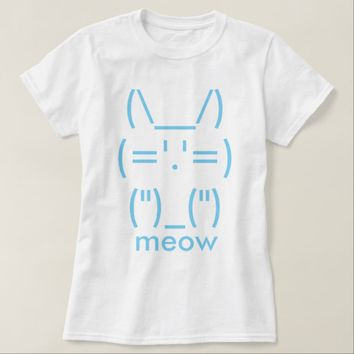 ASCII Cat T-Shirt