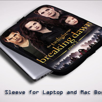 The Twilight Breaking Dawn part two Y1260 Sleeve for Laptop, Macbook Pro, Macbook Air (Twin Sides)