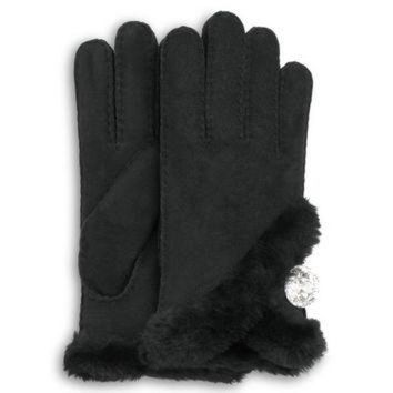 ICIK8X2 UGG? Official | Women's Bailey Bling Gloves | Beware of Fakes