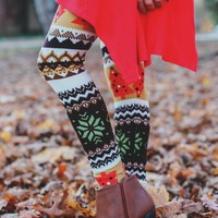 O' Christmas Tree Leggings - Kids