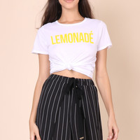 Jonathan Saint Lemonade Tee - White