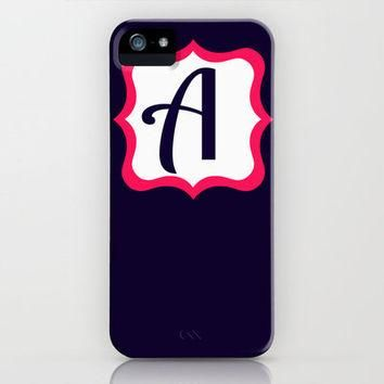 Letter A iPhone Case by Jordan Virden | Society6