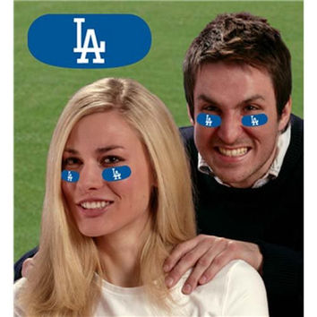 Los Angeles Dodgers MLB Vinyl Face Stickers