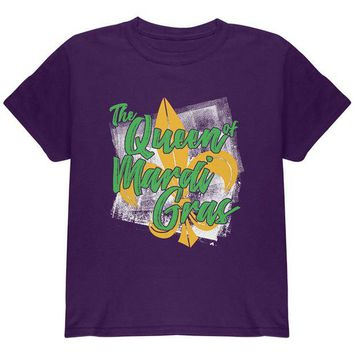 ONETOW The Queen of Mardi Gras Youth T Shirt