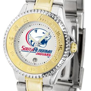 South Alabama Jaguars Competitor Ladies Two-Tone Watch
