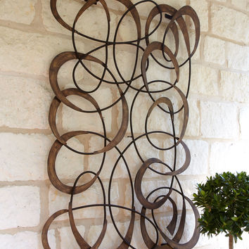Mingling Circles Wall Decor - Neiman Marcus
