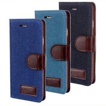 Simple Style Iphone6 Plus 5.5 Inch Leather Case With Card Slot For Iphone6 Plus