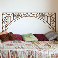 Antique  Adhesive Headboard Wall Decals