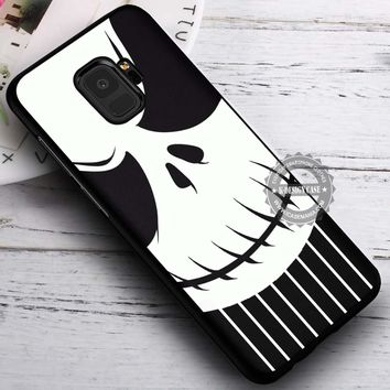 Face and Stripe Skull Jack Skellington iPhone X 8 7 Plus 6s Cases Samsung Galaxy S9 S8 Plus S7 edge NOTE 8 Covers #SamsungS9 #iphoneX