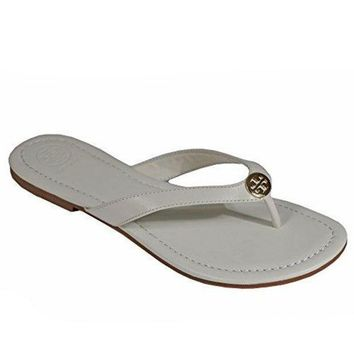 ESB3DS Tory Burch Pearce Thong Sandal Flip Flop Shoes