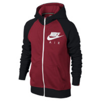 Nike HBR Brushed Fleece Full-Zip Boys' Hoodie