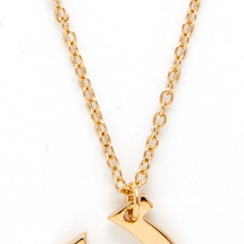 14K Gold Dipped Horseshoe Necklace with Real Diamond