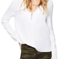 Sanctuary Raven Choker Top | Nordstrom