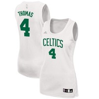 Women's Boston Celtics Isaiah Thomas adidas White Fashion Replica Jersey
