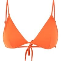Ring Trim Triangle Bikini Top - Swim Shop - New In