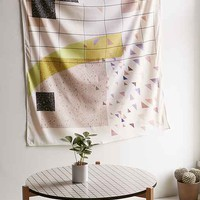 Terrazzo Collage Tapestry