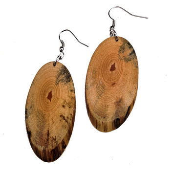 Wooden Earrings- Everyday Accessory