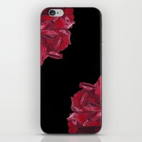 Roses are Red iPhone Skin by drawingsbylam