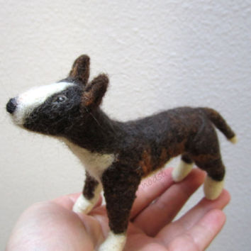 Custom felted dog, cat or other pet portrait, replica, meme, posable, MADE to ORDER