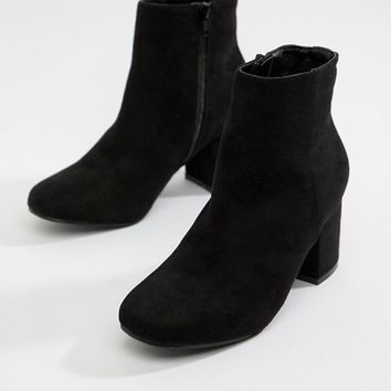 Boohoo block heel ankle boot at asos.com