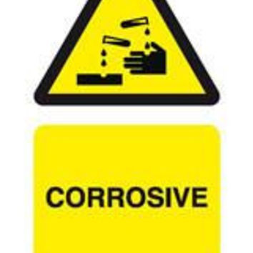Tie tag, Corrosive - Pack of 10