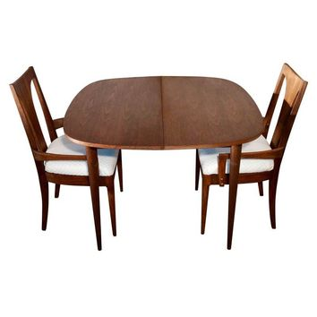 Pre-owned Vintage Danish Mid Century Modern 3pc Dining Set