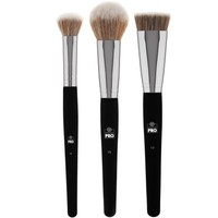 Studio Pro Blush/Contour Makeup Brush Set | BH Cosmetics