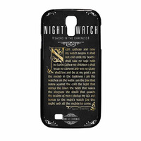 Game Of Thrones Nights Watch Samsung Galaxy S4 Case