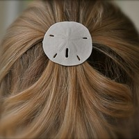 Sand Dollar Hair Barrette